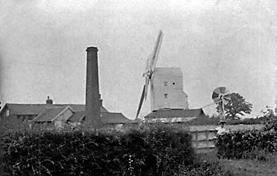 Norfolk Mills - Gissing post windmill
