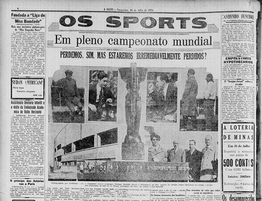 World Cup 1930 Project: 1930 World Cup Newspapers and Magazines