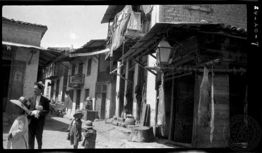 St. George. Old houses. (Boeotia); 1924; Dorothy Burr Thompson. | Greece - 1920's | Old pictures ...