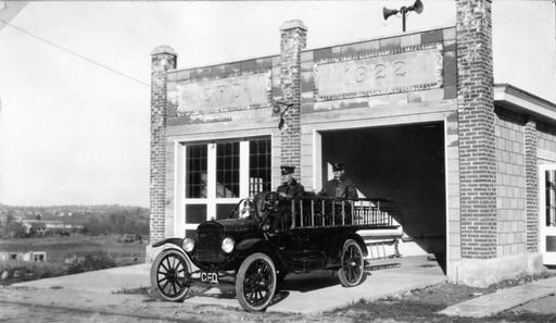 Fire Department History 1920-1929