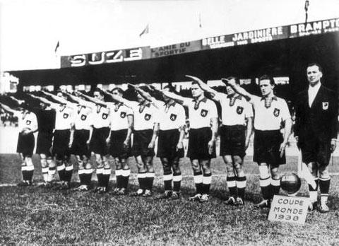 The German national football team during the era of Nazis and the story of Austrian player ...