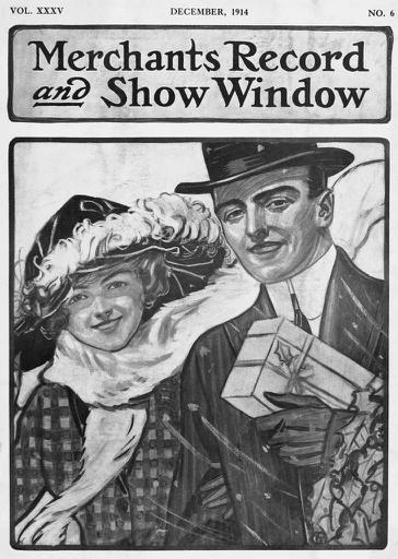 December 1914 - Merchants Record and Show Window Magazine Cover