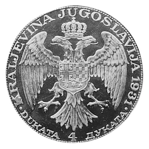 Yugoslavia 4 Dukata KM 14.2 Prices & Values | NGC