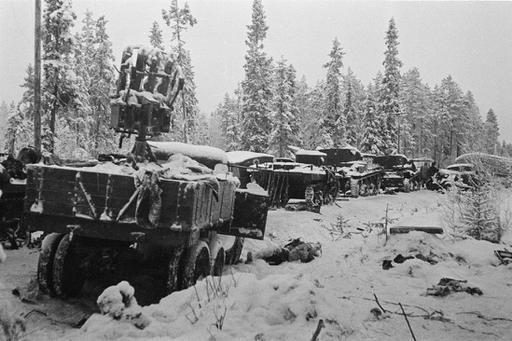 Armour force / Panssaroitu voima : Battle of Raate Road - Raatteen tie taistelu