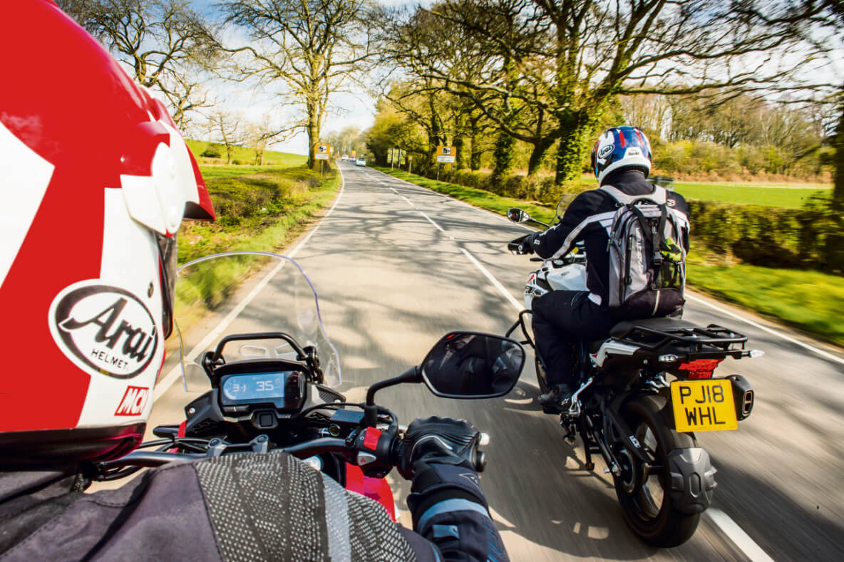 two-bikes-on-road