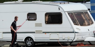 How to clean your caravan