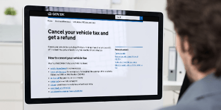 How to cancel your car tax and get a refund