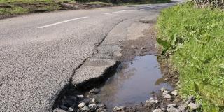 How to claim for pothole damage