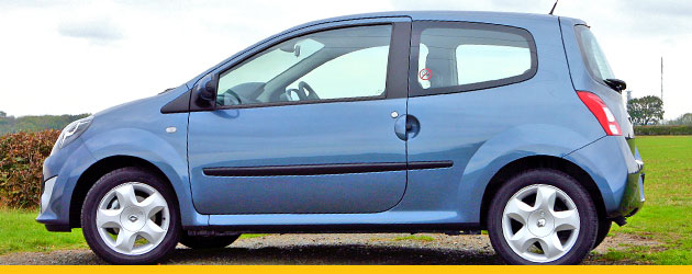 Renault Twingo in side profile