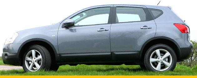 Nissan Qashqai in grey