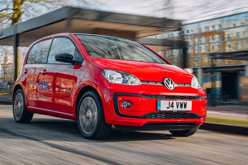 Volkswagen UP cheapest cars to insure