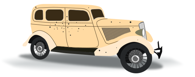 Bonnie and Clyde's Sedan