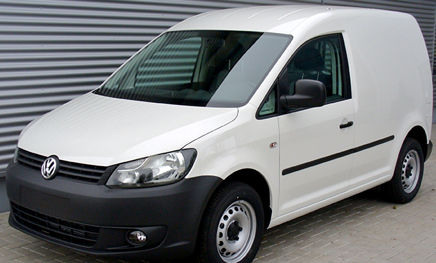white_volkswagen_caddy