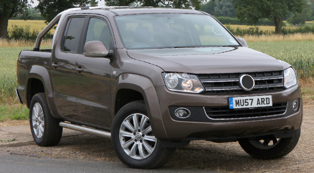 volkswagen-amarok-vw-brown-pickup-truck