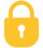 privacy policy lock icon