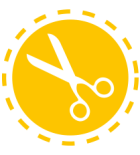 tailored for you scissor icon