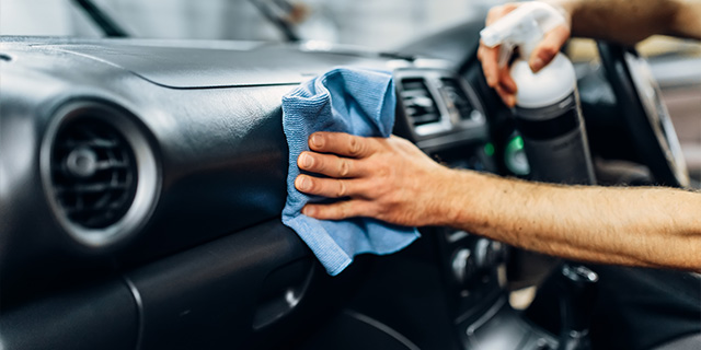 keeping you car clean and germ free