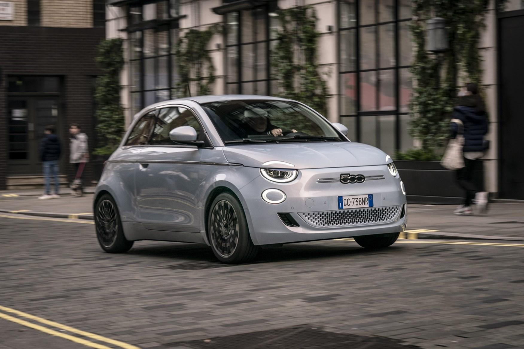 fiat 500e best cheap electric cars