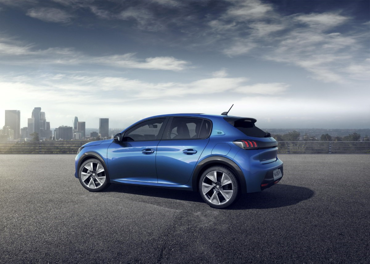 Peugeot e-208 best affordable electric cars