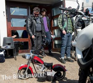 Adventure bike day at Ace Cafe - 0008