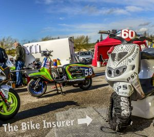 Scooters and Classics at Mallory Park - 0001