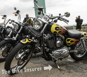 The Ace Cafe Brighton Burnout 2016 - 0002