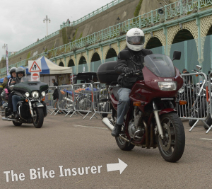 The Ace Cafe Brighton Burnout 2016 - 0010