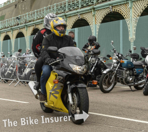 The Ace Cafe Brighton Burnout 2016 - 0013