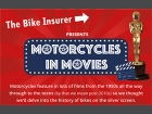 Infographic: Motorcycles in the movies