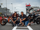 Nimi and Sherrie: A track day with a difference