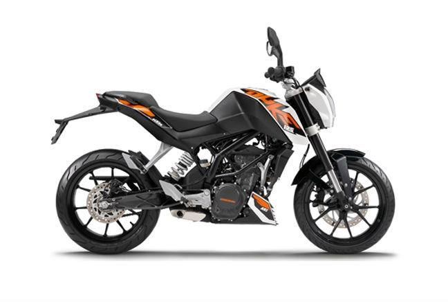 KTM Duke 125 - Featured image