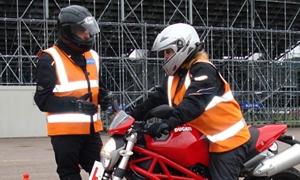 Advanced rider training and insurance