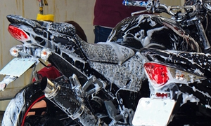How to clean your motorbike