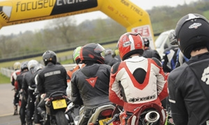The Bike Insurer competition winners ride with Steve Parrish