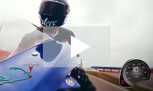 Silverstone ride along - Steve Parrish on track