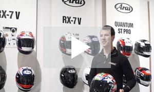 VIDEO: Arai RX-7V helmet