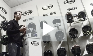 Motorcycle helmets - how to get one that fits properly