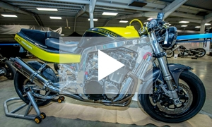 VIDEO: Kickback Custom Motorcycle Show