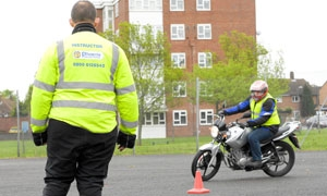 Motorcycle test manoeuvres