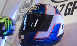 How does SHARP rate motorcycle helmets?