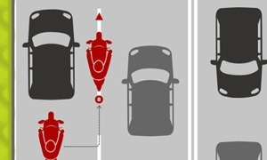 Motorcycle filtering tips from IAM RoadSmart