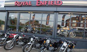 Royal Enfield opens flagship dealers
