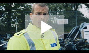 Lancashire Police respond to motorcycle filtering video