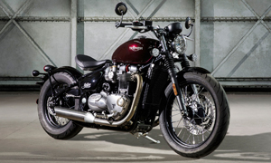New Bonneville revealed by Triumph
