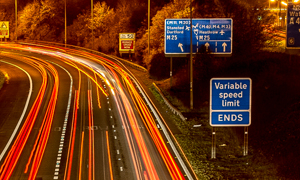 Rapid rise in 'smart motorway' speeding tickets