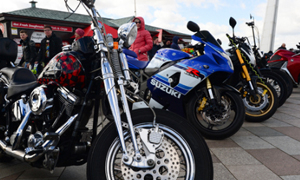 Motorcycle sales clear 100,000 ahead of 2015