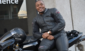 GBBO's Selasi Gbormittah talks motorbikes