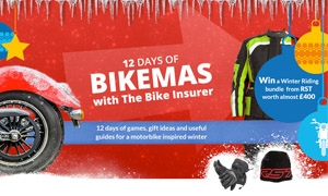 12 Days of Bikemas with The Bike Insurer - What's on