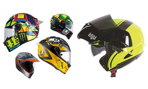 Five AGV lids for July 2017