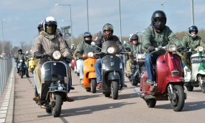 Clacton Scooter Ride Out 2017